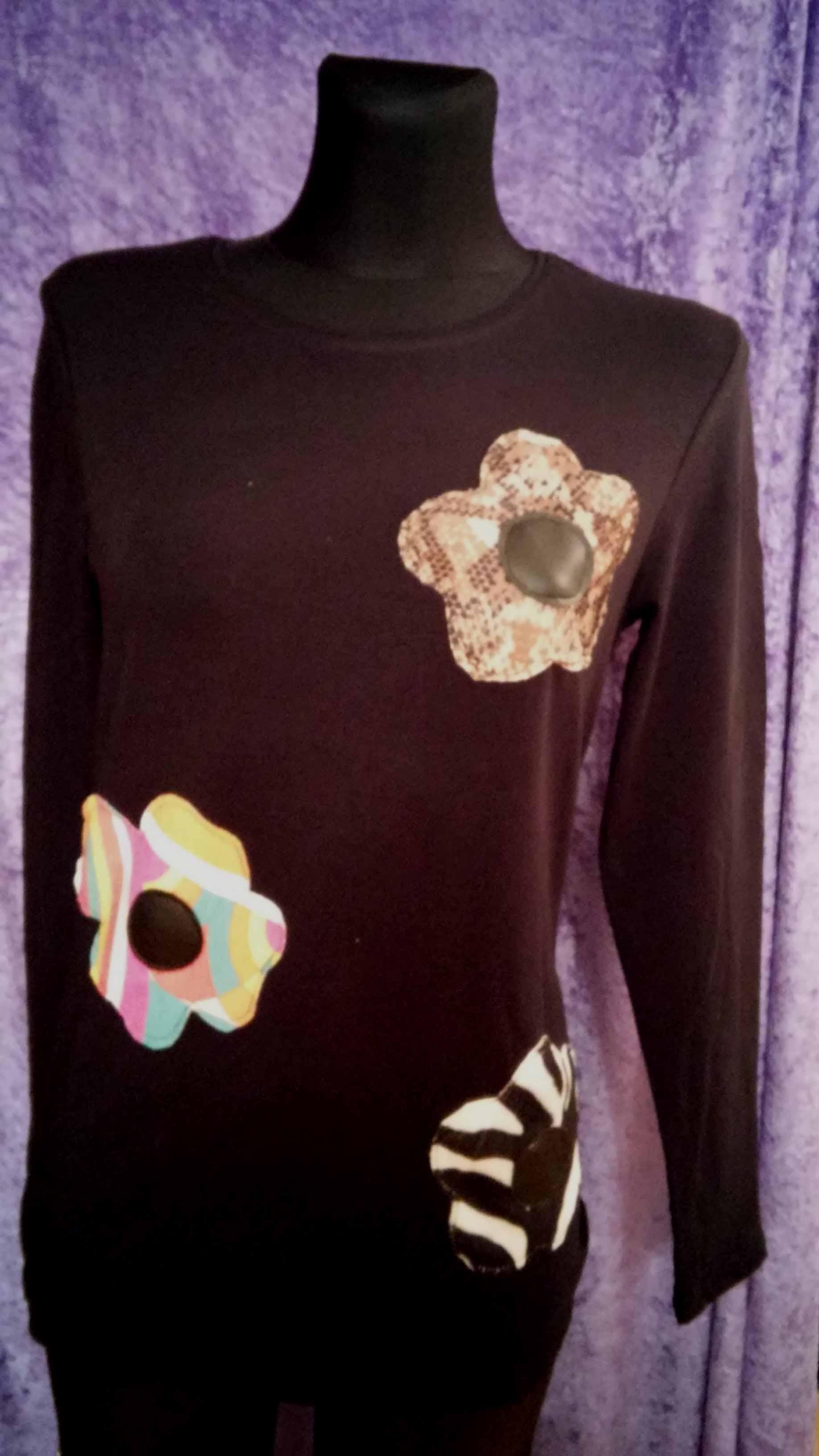 Camiseta Flores 1