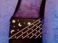 Bolso pinchos, lunas y estrellas